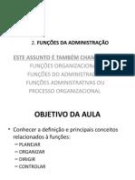 2 Funções Organizacionais.pptx