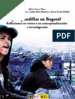 ¿Las pandillas en Bogotá? Reflexiones en torno a su conceptualización e investigación