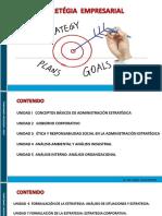 P1- Estrategia Empresarial - CONCEPTOS BÁSICOS DE ADMINISTRACIÓN ESTRATÉGICA