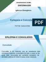 CONVULSÃO, EPILEPSIA, VERTIGEM E DESMAIO