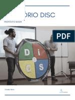 DISC - Persistente Dominante - Propósito MAIOR
