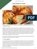 Dieta_ diez reglas para romper sin culpa - Dr