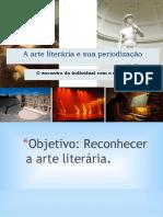 A arte literária e sua periodização