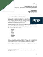 9.Tipos de Investigación. Predictiva, Proyectiva, Interactiva, Confirmatoria y Evaluativa