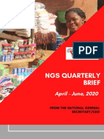 NGS QUARTERLY BRIEF