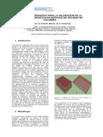 ANÁLISIS COMPARATIVO PARA LA VALORACIÓN DE LA EFICIENCIA ENERGÉTICA EN EDIFICIOS DE OFICINAS EN COLOMBIA