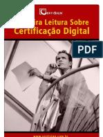 Primeira Leitura sobre Certificacao Digital