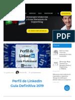 ▷ Guía 2019 para CREAR tu PERFIL de LINKEDIN - Ivo Fiz - Copywriter
