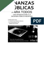 Finanzas Publicas para todos. una Introducción a la Hacienda Publica Mexicana - Astudillo Moya, Marcela
