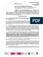 Resolución Apertura IDU LP SGI 004 2020