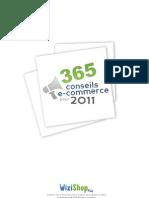 365 Conseils Ecommerce 2011