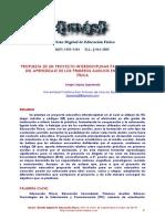 Proyecto Interdisciplinar Para ElFomento de la Educacion Fisica