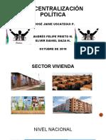 Presentacion ministerio de vivienda