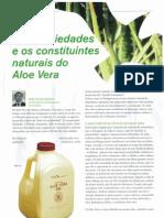 Aloe-Vera e Os Constituites Naturais