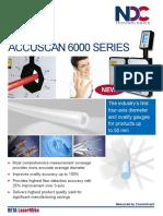 AccuScan 6012 - 6050 Brochure - Laser