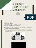 MODOS DE INSCRIPCIÓN EN LA AGENDA - DANIEL DAZA Y OSCAR ALARCON (1).pptx