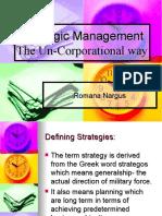 Stretegic Management Strategies