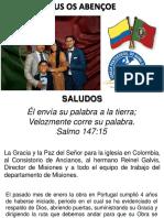 Informe Misionero Portugal Marzo de 2020