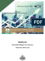 Associate Degree in Commerce Spring  2020.pdf