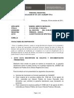 Tribunal Resol 619-2011-SUNARP-TR-A