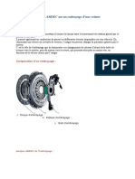 Analyse AMDEC sur un embrayage