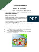 La literatura infantil tarea 4