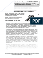 ACTIVIDAD  1. LECTURA LA ESTUFA Y MARCO TEORICO-DINAMICA