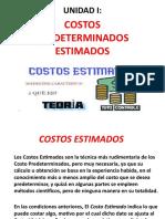 UNIDAD I  COSTOS ESTIMADOS.pptx