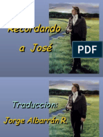 Recordando a José (Remembering Joseph- SPANISH)