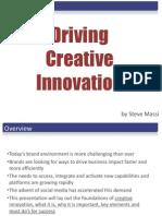 Driving Creative Innovation
