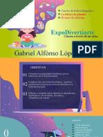 Expodivertiarte Gabriel Alfonso Lopez Gil Pre jardin