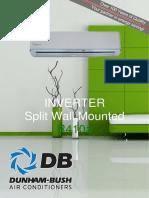dunham-bush-midwall-split-r410a-inverter