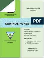 CAMINOS-FORESTALES