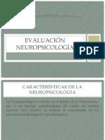 Generalidades de la evaluación Neuropsicológica