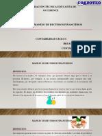 MODULO MANEJO DE RECURSOS FINANCIEROS I