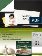 GASTON ACURIO