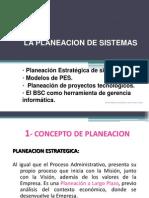 La planeación de los sistemas