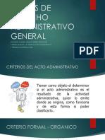 CRITERIO Y ACTOS ADTIVOS 1