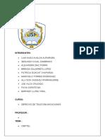 informe expo TELECOMUNICACIONES OSIPTEL