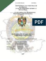 ANALISIS PRACTICA 5 DETERMINACIÓN DE FIBRA BRUTA