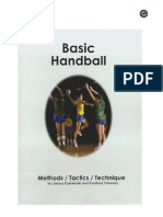 1997 Basic Handball - Methods Tactics Technique
