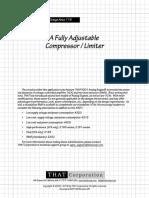 Compressor Note 115