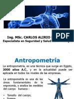 12. ANTROPOMETRIA  - PERCENTILES