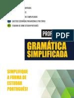 Gramatica Simplificada -