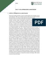 RESUMEN CAPITULO 1 Y 2 DE LA INTRODUCCIÓN A LA INVESTIGACIÓN