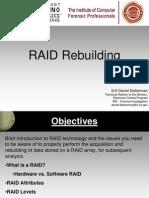 RAID Rebuilding - Dickerman