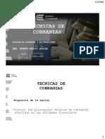 SEMANA 10_TÉCNICAS DE COBRANZAS