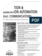Distribution & Substation Automation (incl. Communications) for Electrical Power Systems