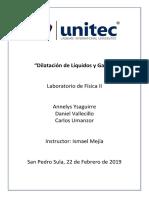 Dilatación de Líquidos y Gases lab.docx