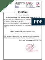 16. PMI Certificate